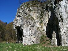 Skała Dupa Słonia w w Dolinie Będkowskiej